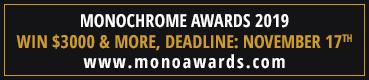Monochrome Photography Awards 2019