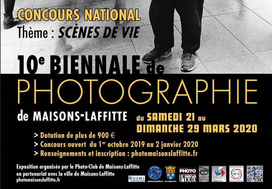 10ème biennale de Photographie de Maisons-Laffitte