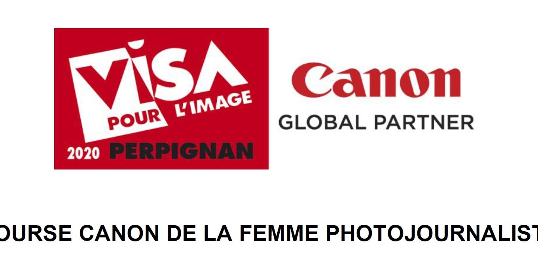 Bourse Canon de la Femme Photojournaliste