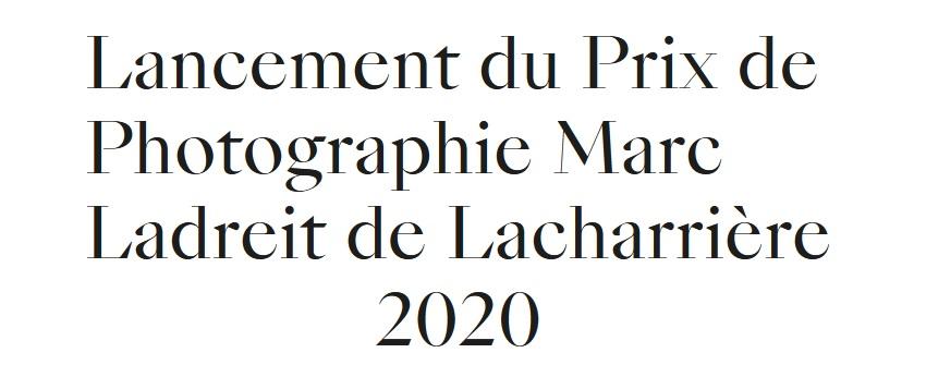 Prix de Photographie Marc Ladreit de Lacharrière