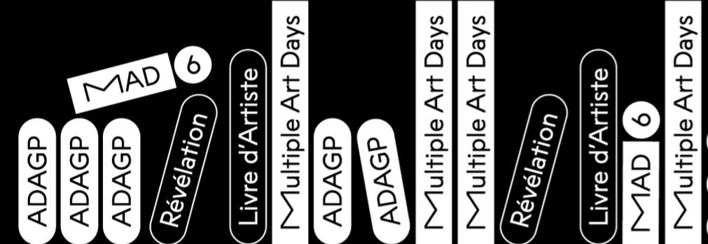 6ème Révélation livre d'artiste ADAGP-MAD