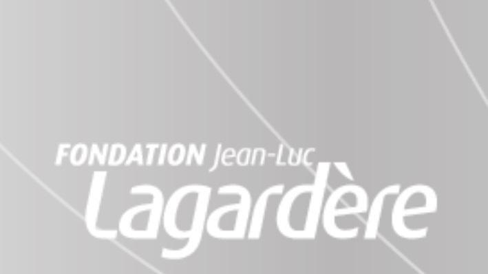 Bourse Photographe de la Fondation Jean-Luc Lagardère